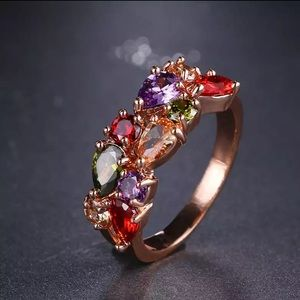 2 for $30 Rose Gold Cubic Zirconia Ring